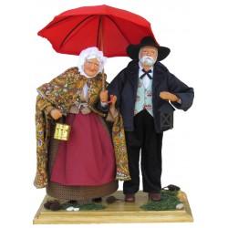 Couple au Parapluie