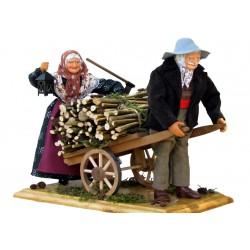 Couple au Charreton de Bois