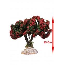 Arbre Fleuri Rouge N°2