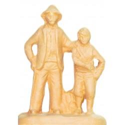 Aveugle et son fils