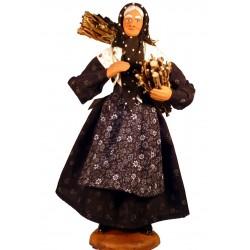 Femme aux fagots